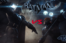 Batman vs. Deathstroke – 4K Video